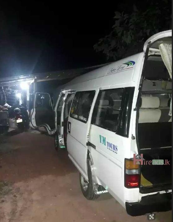 Caravan Superlong Van for Hiring - මීගමුව