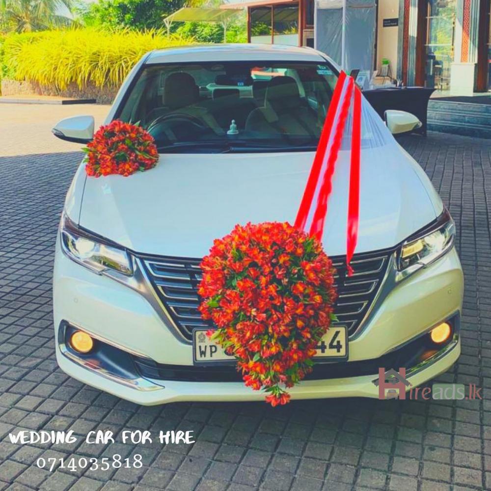 Wedding car for hire  - කලුතර