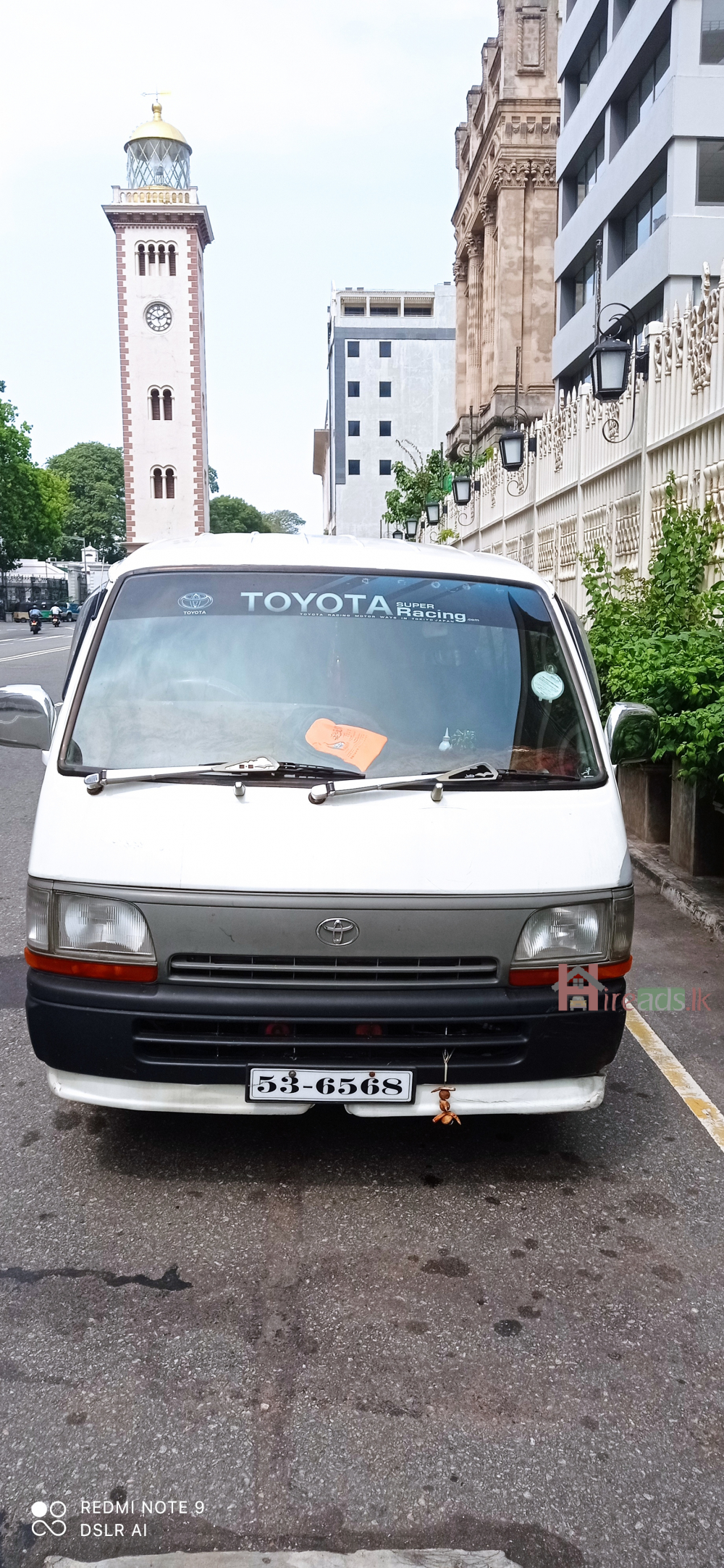 Toyota Hiace van - කොලඹ